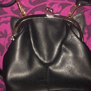 Bags - Classic Black Cat Coin purse Style Crossbody